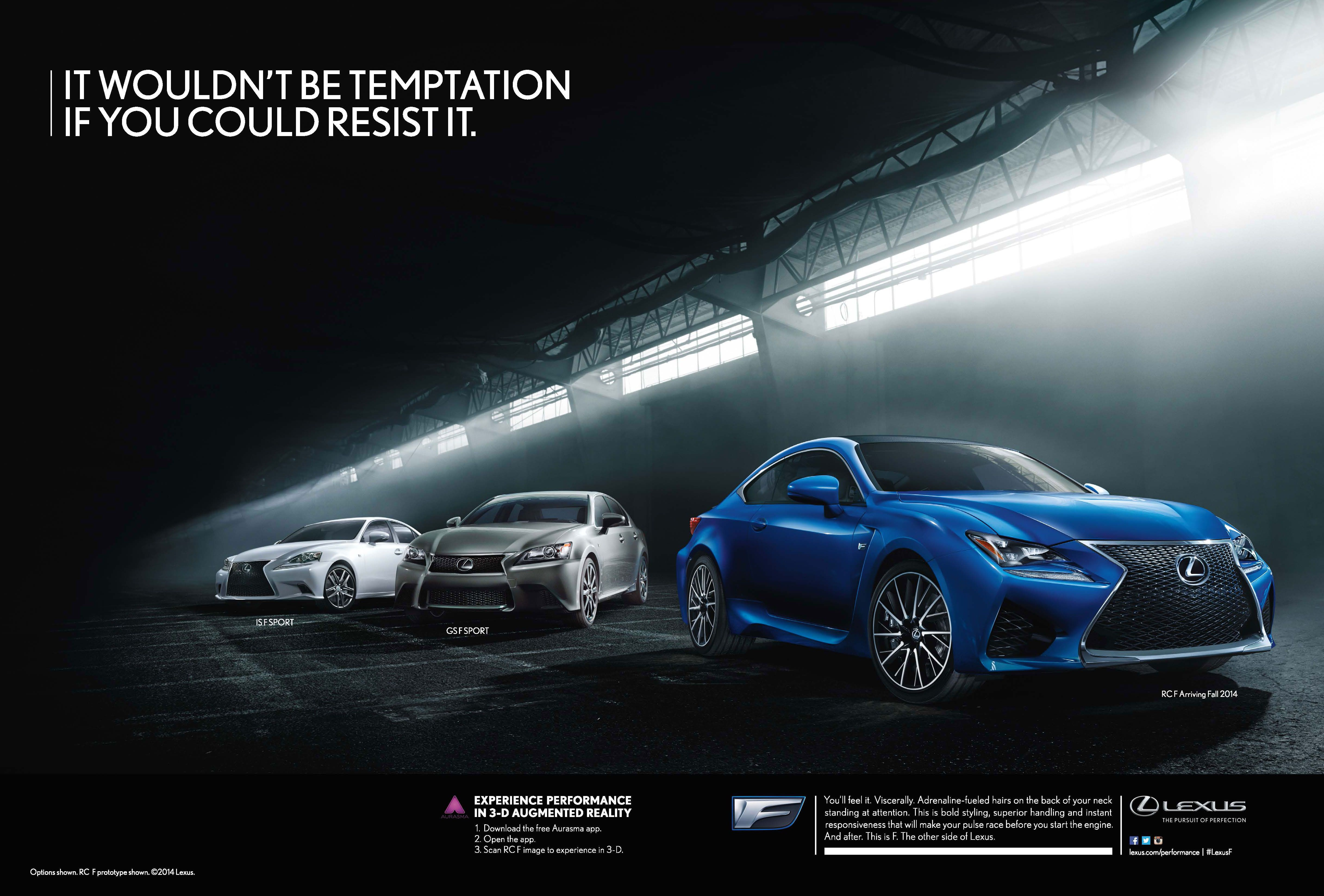 Brand Lexus Communication Objective Attitude To Maintain And Reinforce Lexus S Brand Image As Premium With Luxu Lexus Car Advertising Design Car Advertising