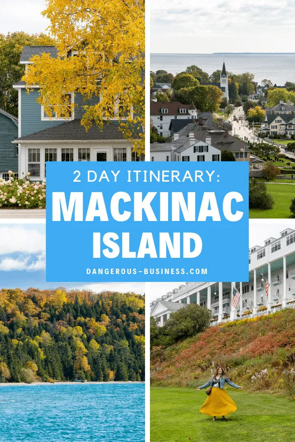 Stepping Back In Time For 2 Days On Mackinac Island In 2021 Mackinac Island Mackinac Island Michigan Island Travel