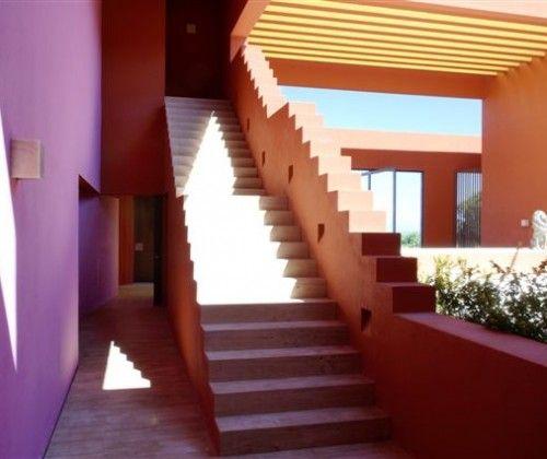 Staircase, (Sotogrande, Spain) Interior Design: Legorreta + Legorreta