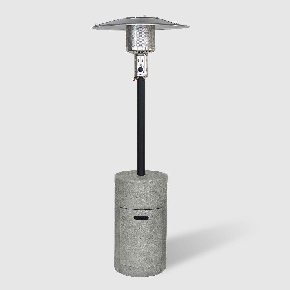 Argent Cement Outdoor Patio Heater - Gray - Bond