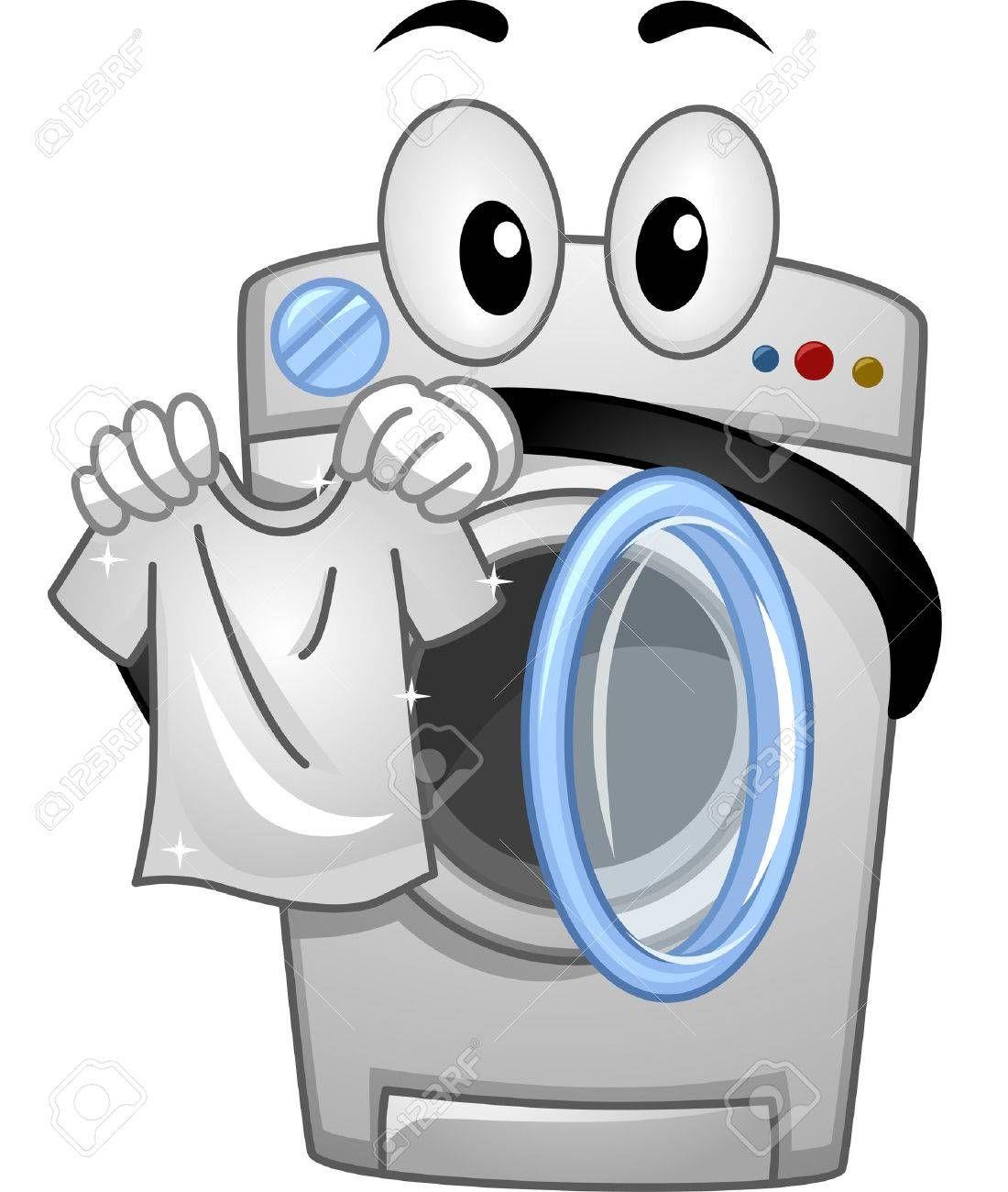 33+ Washing machine clipart cartoon information