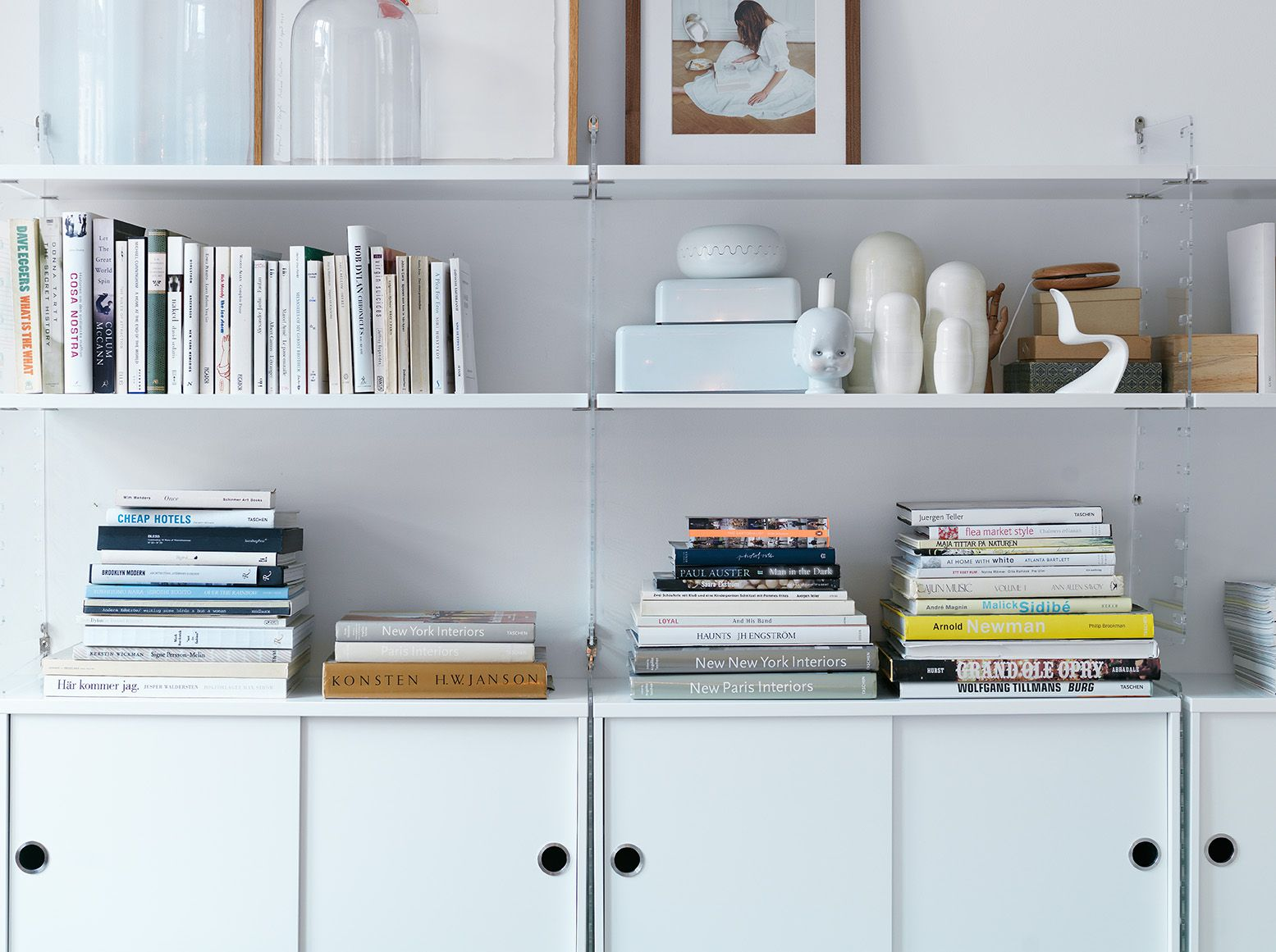 String shelving in White and clear | String plex | Pinterest ...