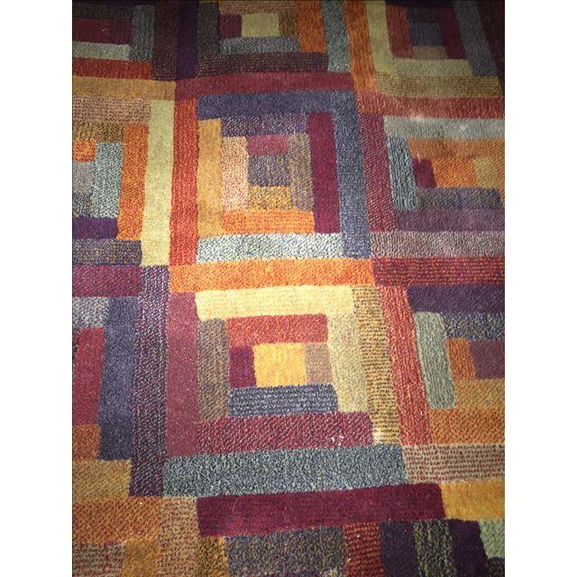 Cambridge Amias Beige Ivory 6 Ft X 6 Ft Indoor Square Area Rug Wool Area Rugs Square Area Rugs Silver Area Rug