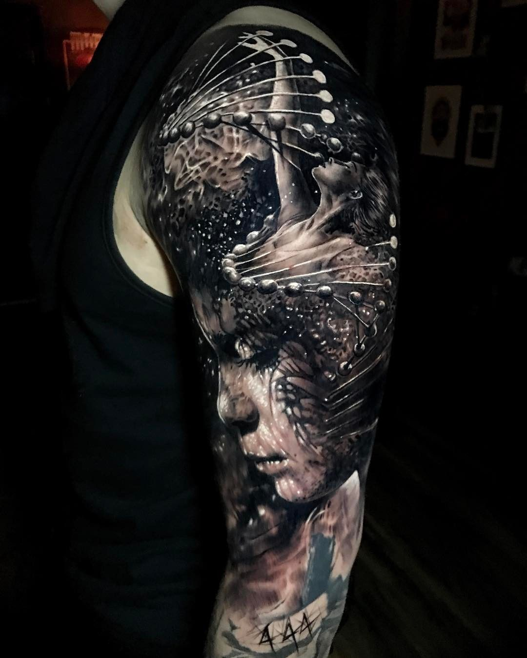 Tattoo Artist Jak Connolly Color And Black Grey Authors Style Tattoo Realism Uk Tattoo Artists Creepy Tattoos Black And Grey Tattoos