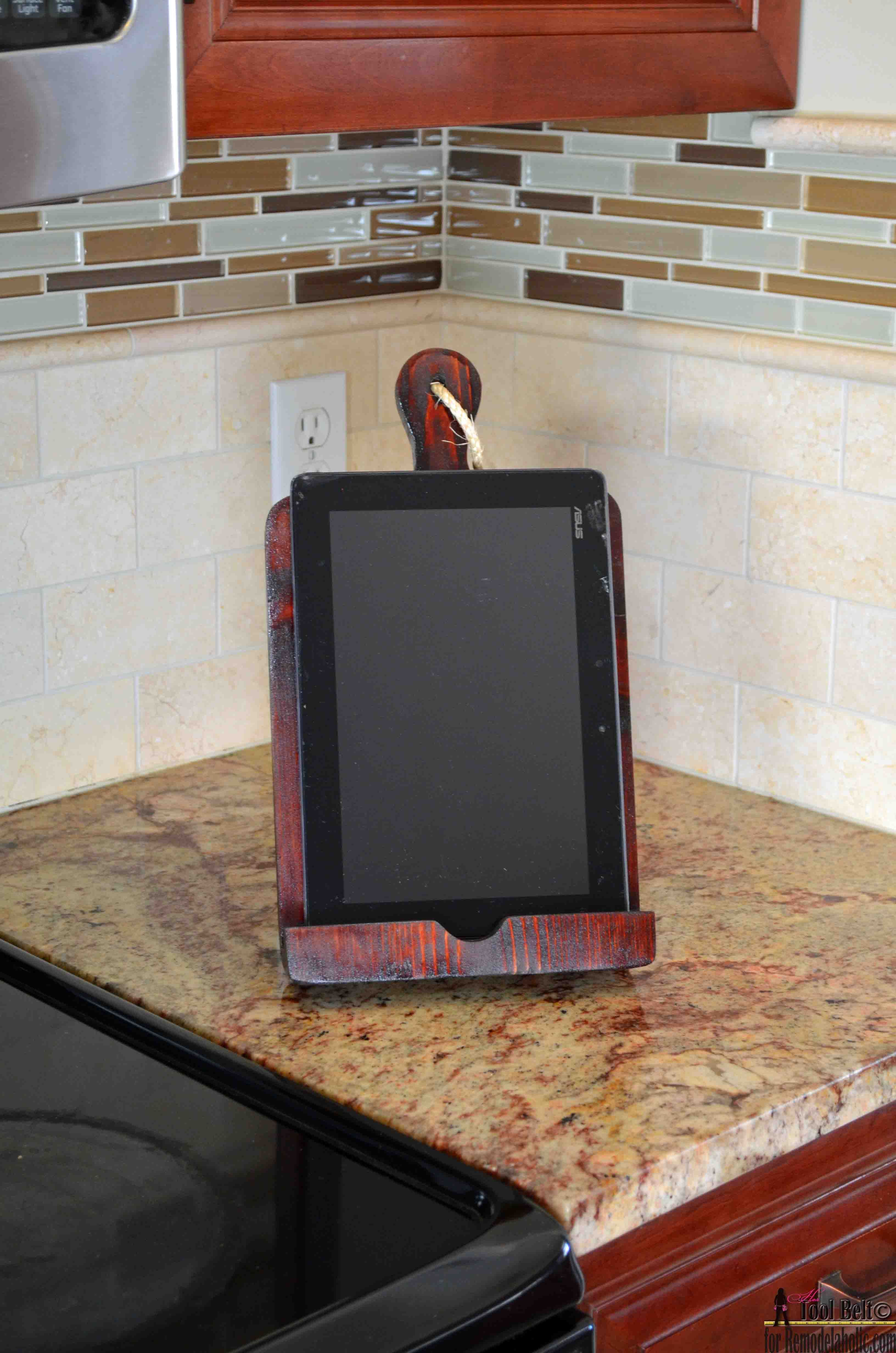 Tablet stand for kitchen  If you like cooking using online recipes a tablet holder or Ipad