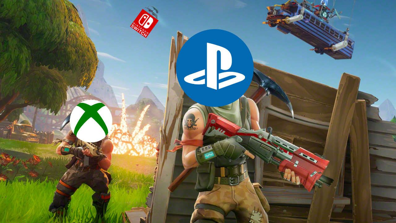 can pc play with xbox one fortnite