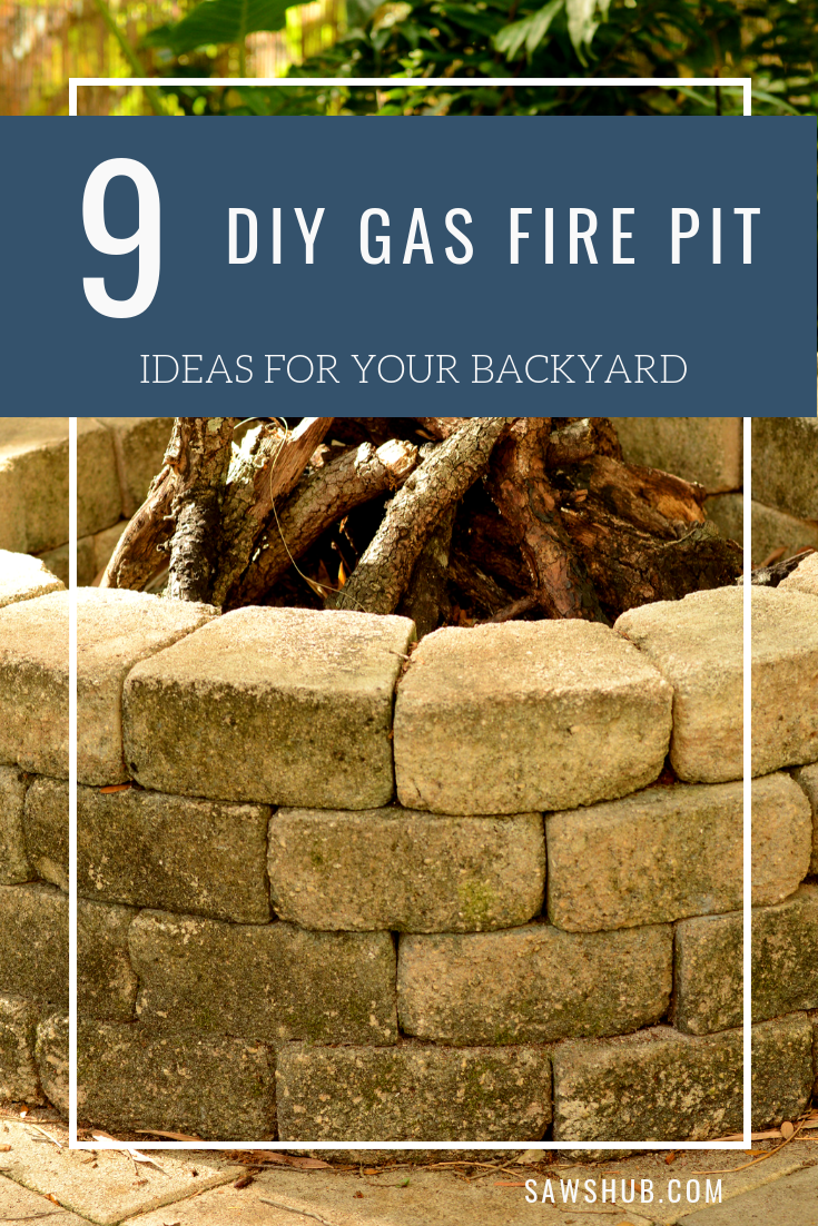 9 Diy Gas Fire Pit Ideas For Your Backyard And Patio This Summer Learn How To Build A Cheap Fire Diy Gas Fire Pit Gas Fire Pits Backyard Gas Fire Pits Outdoor