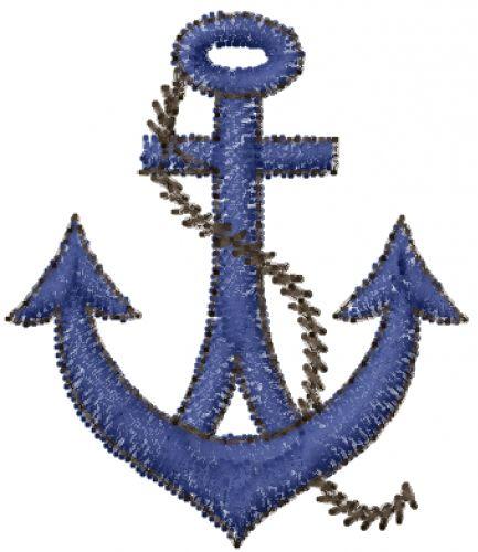 Free Blue Ship Anchor Embroidery Design Annthegran Free