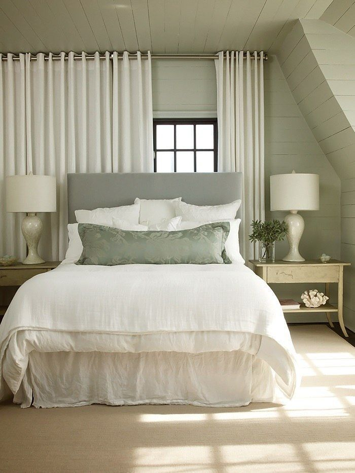 Fancy Hanging Curtains Over Bed Ideas with Best 25 ...