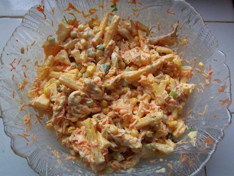 Recette de Salpicao : salade brésilienne : la recette ...