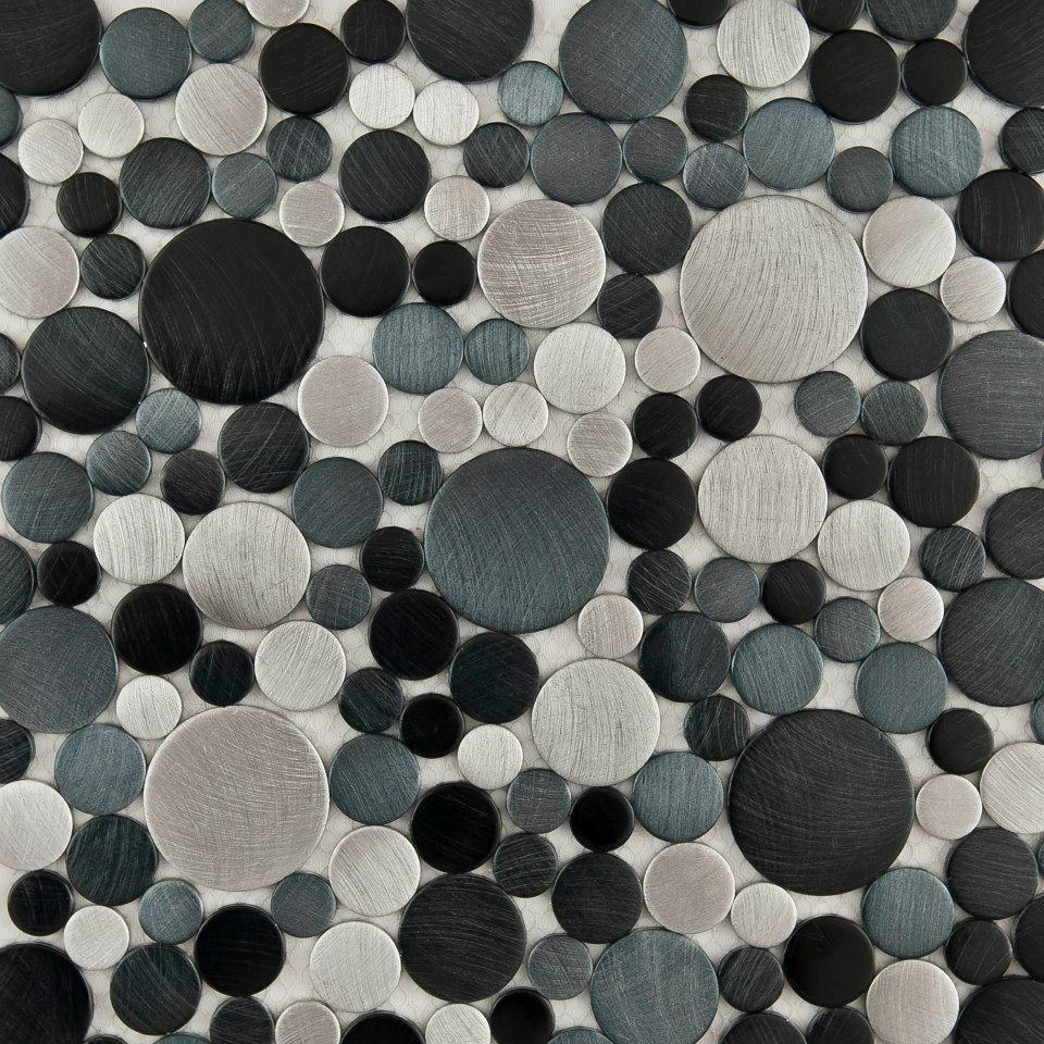Mosaico de aluminio color titanio hola rugs outfits for Ventanas aluminio color titanio