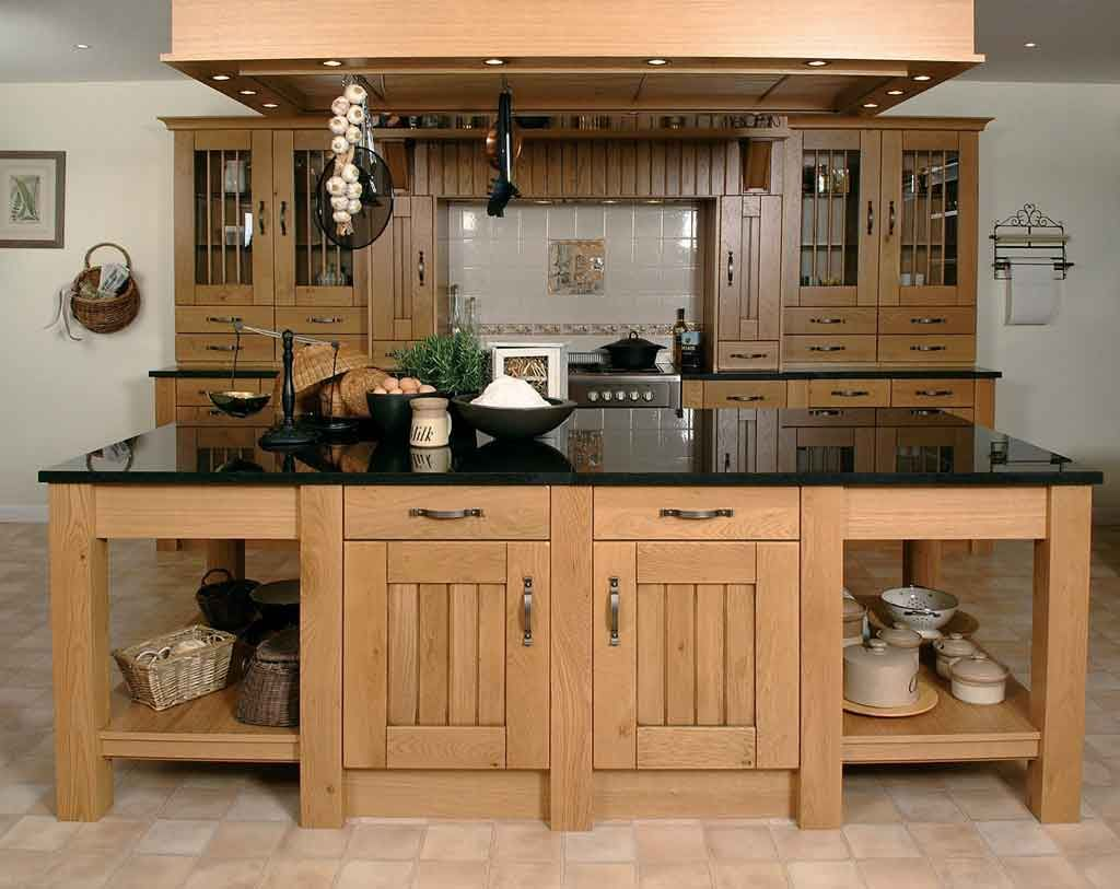 Картинки дизайн кухни из дерева