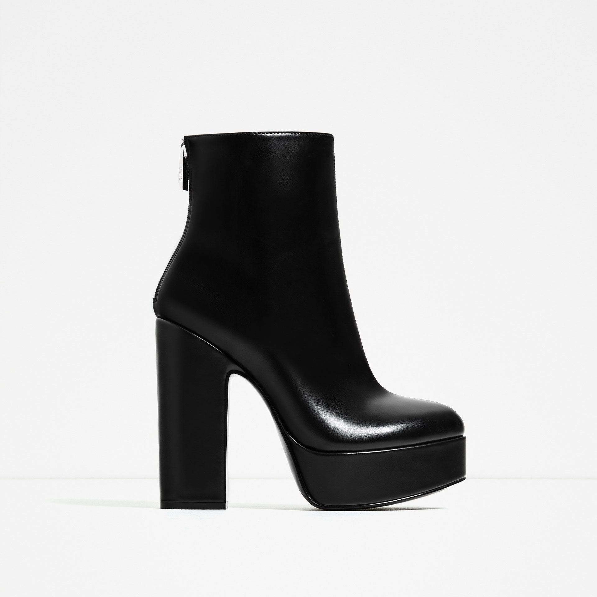cheaper 6a0f5 0a45a ABSATZSTIEFELETTE MIT PLATEAU | ZARA in 2019 | Shoes, Zara ...