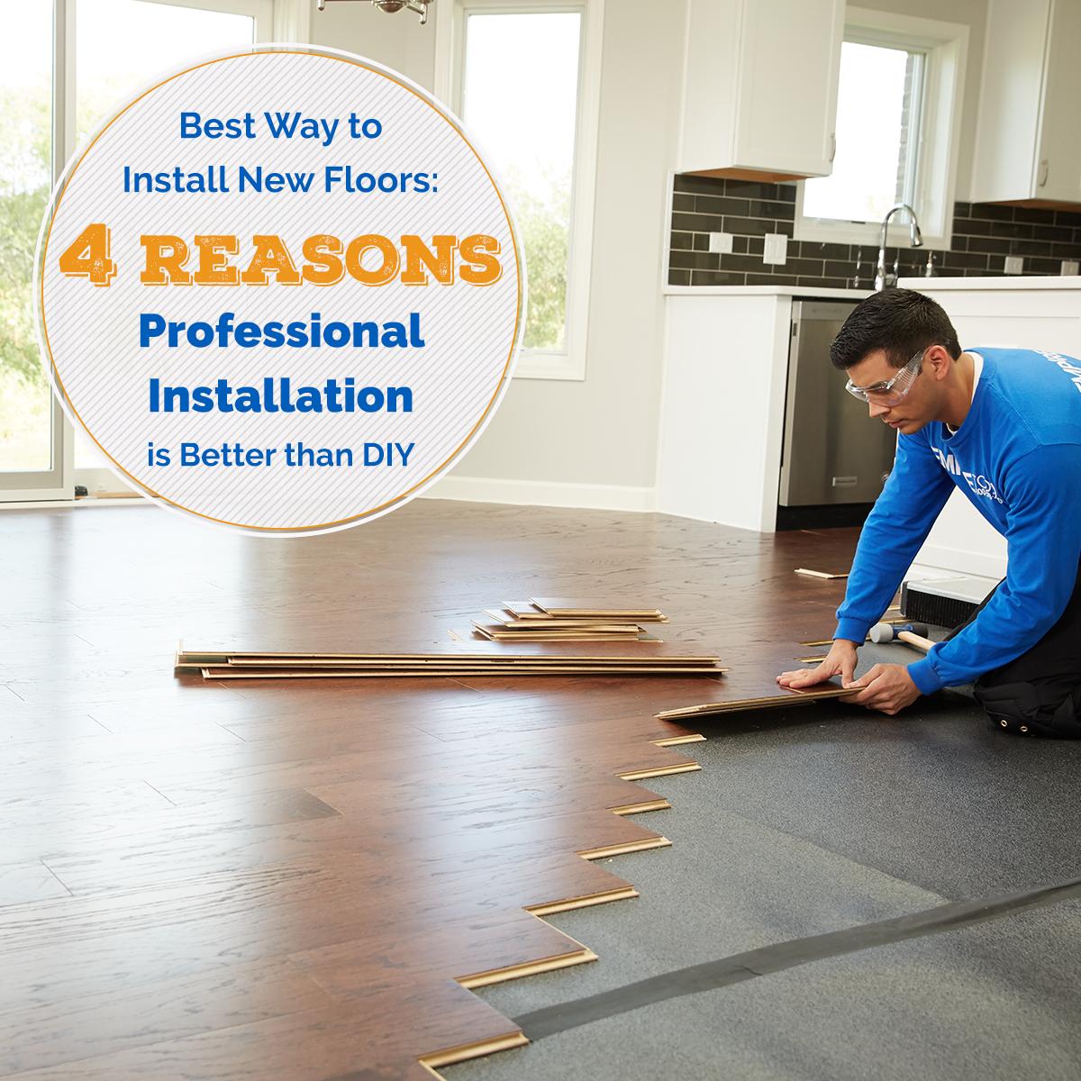 4 Reasons Professional Installation Is Better Than Diy Empire Today Blog Installation Floor Installation Flooring Trends