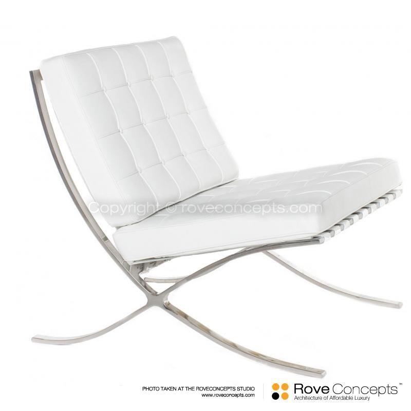 Barcelona Chair Reproduction Replica Rove Concepts