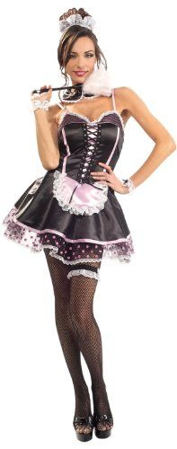 Naughty French Maid - Secret Wishes - Adult Fancy Dress Costume - Small Rubies //.amazon.co.uk/dp/B0018DJ5TU/refu003dcm_sw_r_pi_dp_4qTTub137VMA4  sc 1 st  Pinterest & Naughty French Maid - Secret Wishes - Adult Fancy Dress Costume ...