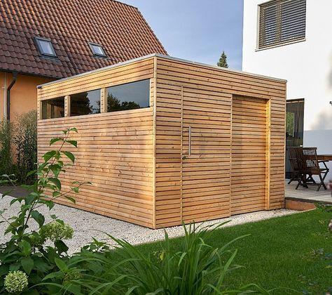 Ahlers Gartenhausmanufaktur, Gartenhaus, Woody Anbau
