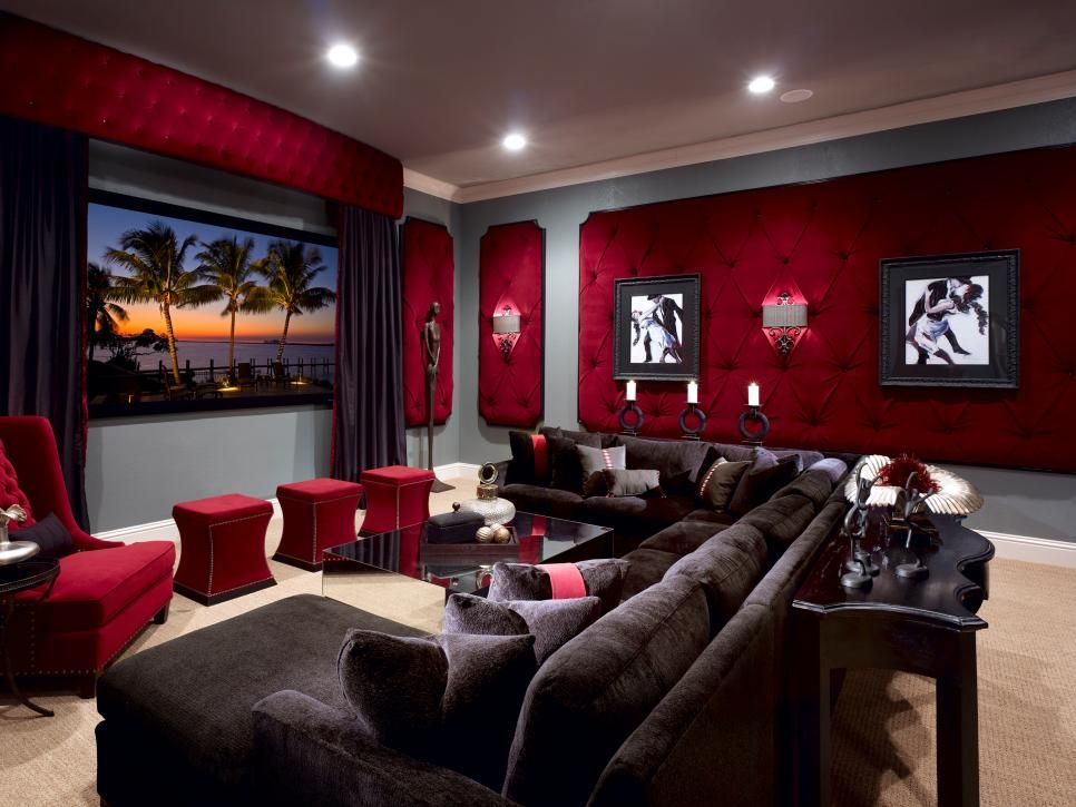 Wonderful Media Room Carpet Ideas Part - 14: Home Theatre Design Ideas Pictures Remodel And Decor With Theater Room  Carpet Ideas