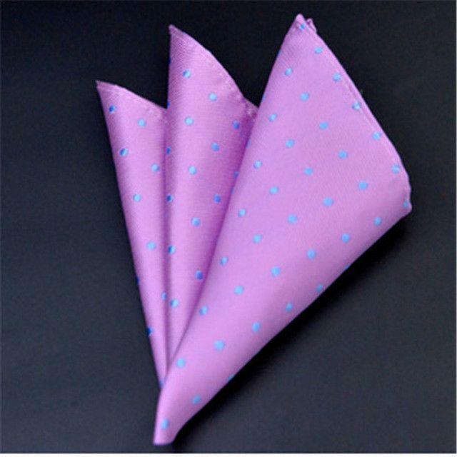 Men/'s Pocket Square Hankerchief Korean Paisley Dot Floral Hanky Wedding Party