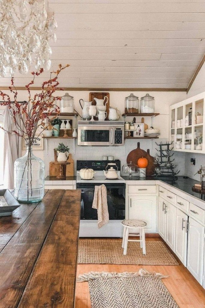 44 Attractive Kitchen Design Ideas On A Budget With Rustic