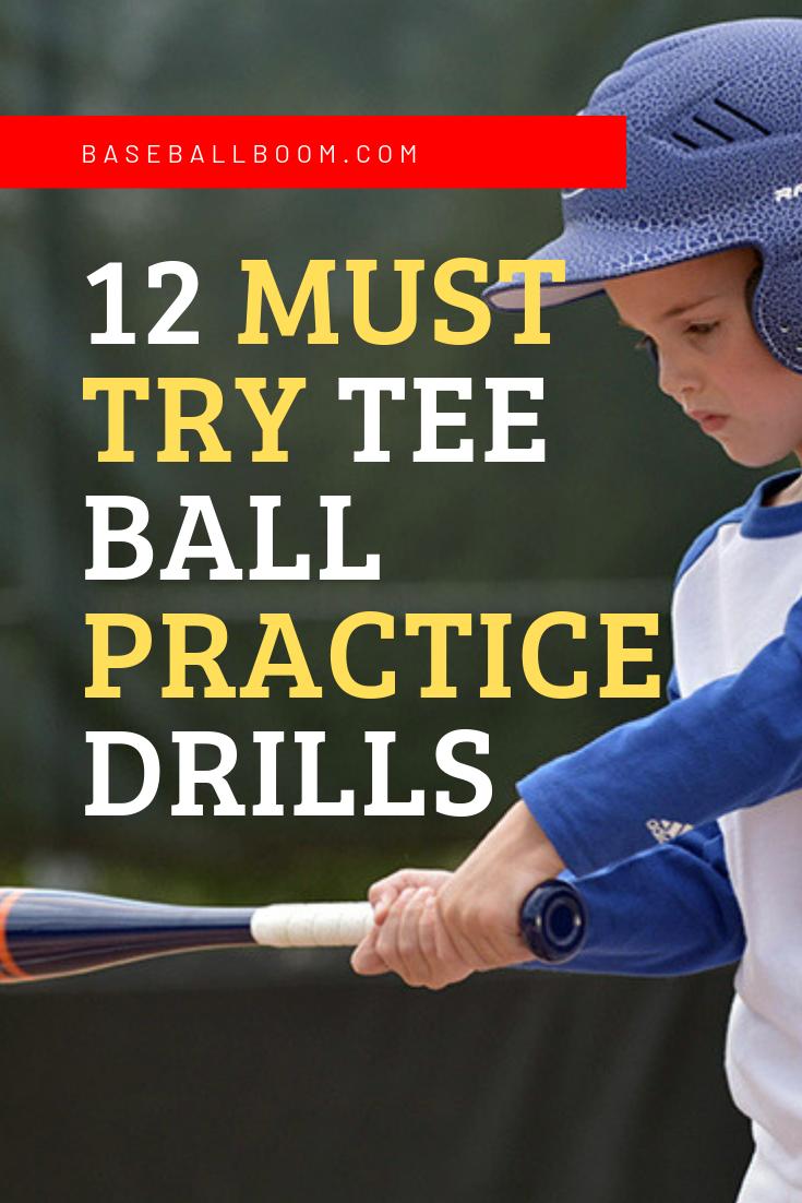 12 Tee Ball Practice Drills To Use Next Practice Youth Baseball Drills Baseball Drills Drill