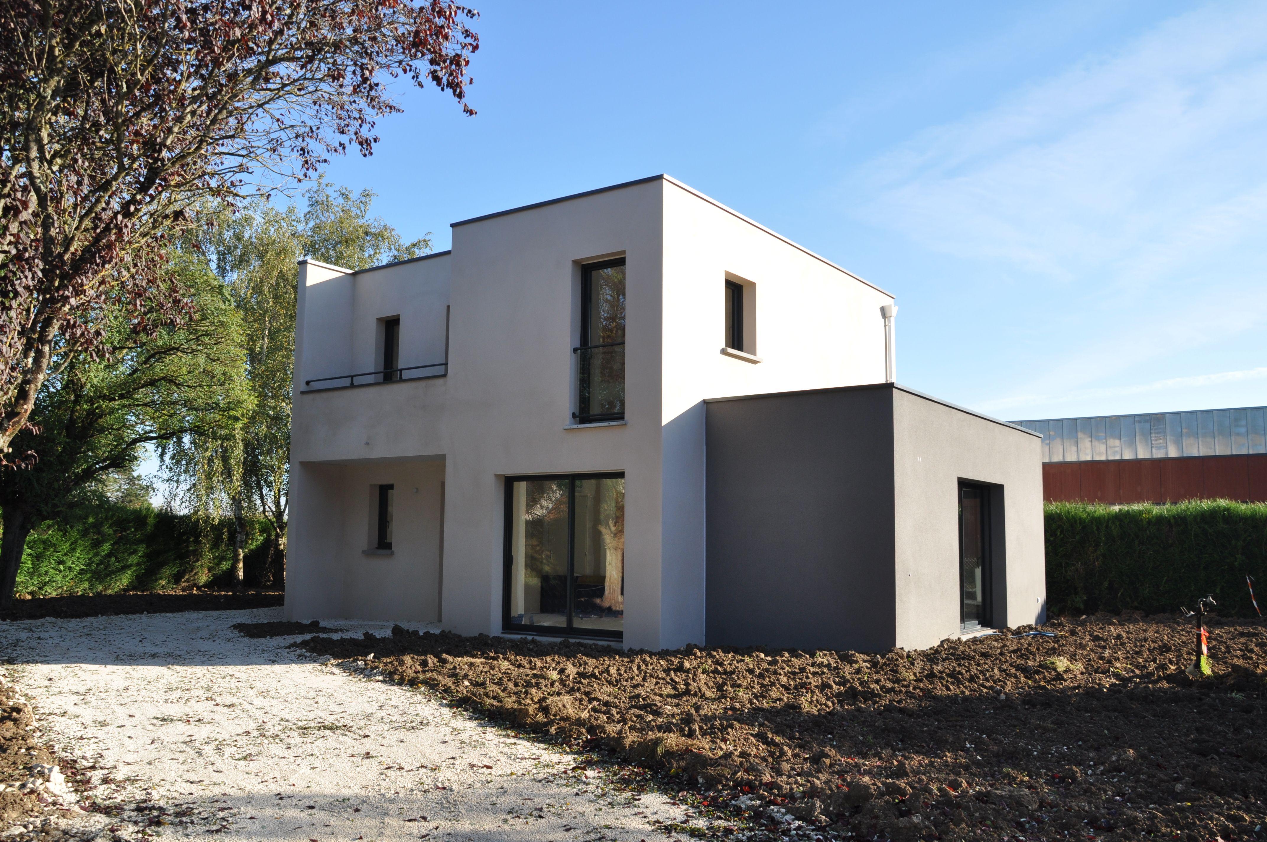 constructeur maison contemporaine indre et loire ventana. Black Bedroom Furniture Sets. Home Design Ideas