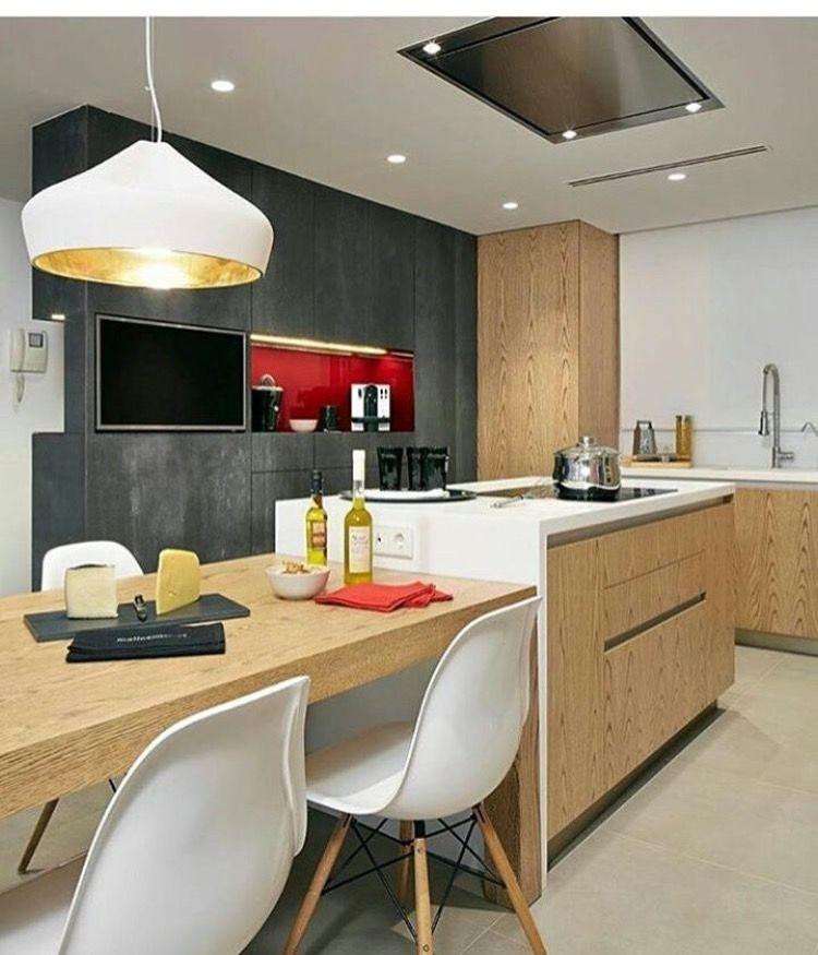 Pin de cecilia nuñez en cocina | Pinterest | Cocinas, Cocina moderna ...
