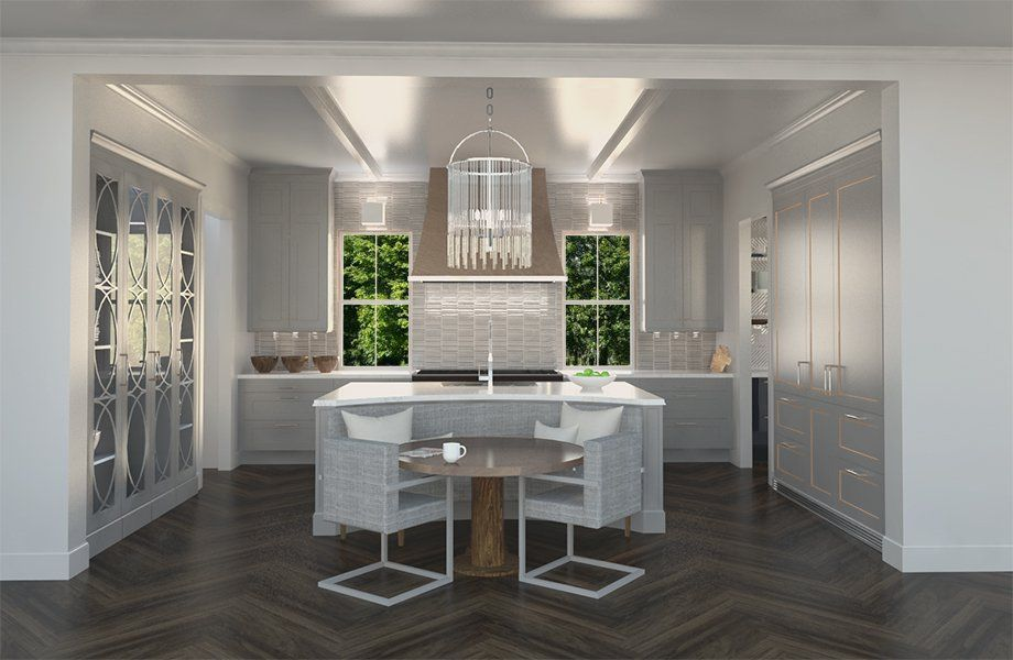 House Beautiful S Kitchen Of The Year Designed By Famed Designer Matthew Quinn Opens For