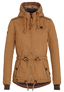 Naketano Schlaubär II W jacket beige brown
