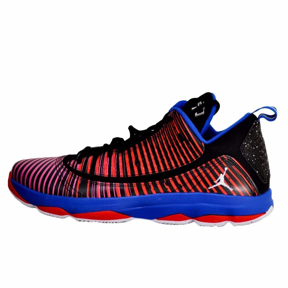 a00467ad480e Nike air jordan cp3.vi ae supernova black white game royal sport red 580580  055
