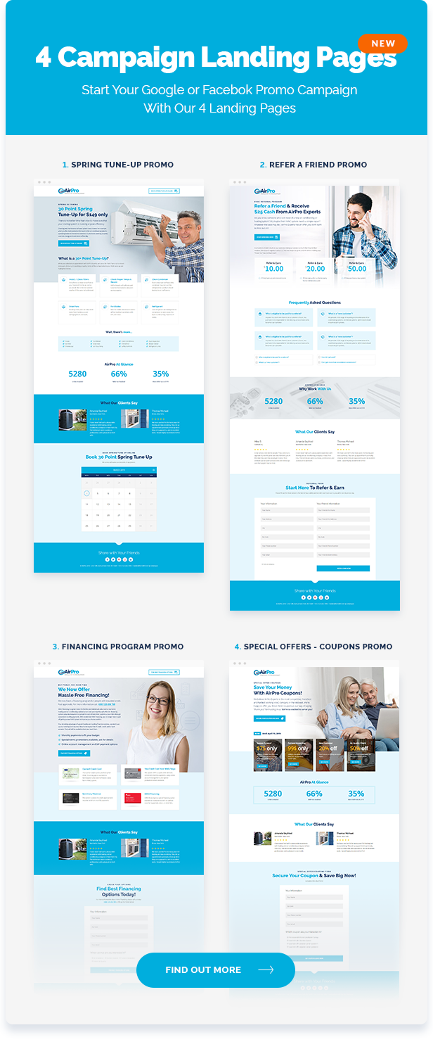 Airpro Heating And Air Conditioning Wordpress Theme For
