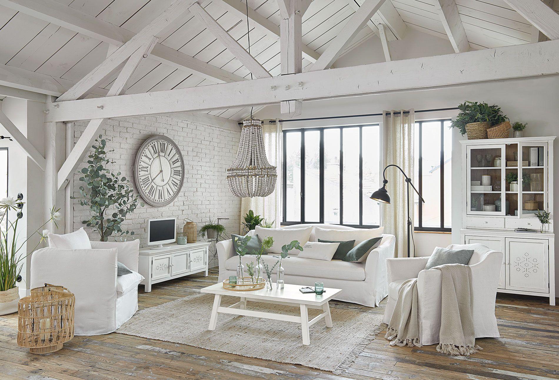 Photo Meuble Salon Blanc Maison Du Monde
