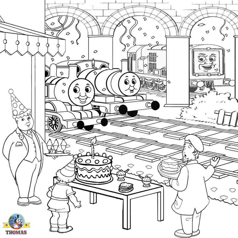 kids activities printable birthday cake coloring pictures of on birthday train coloring pages