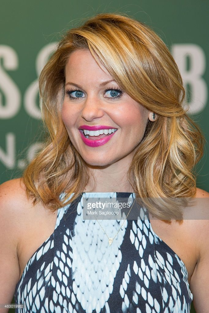 AuthorActress Candace Cameron Bure Promotes Her New Book