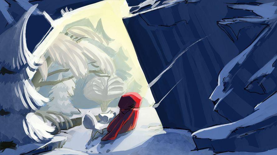red hood child and whitefox :D by Gopye.deviantart.com on @deviantART