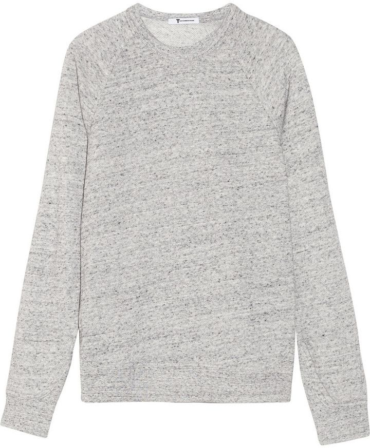 On My List: Alexander Wang Cotton-blend French terry sweatshirt