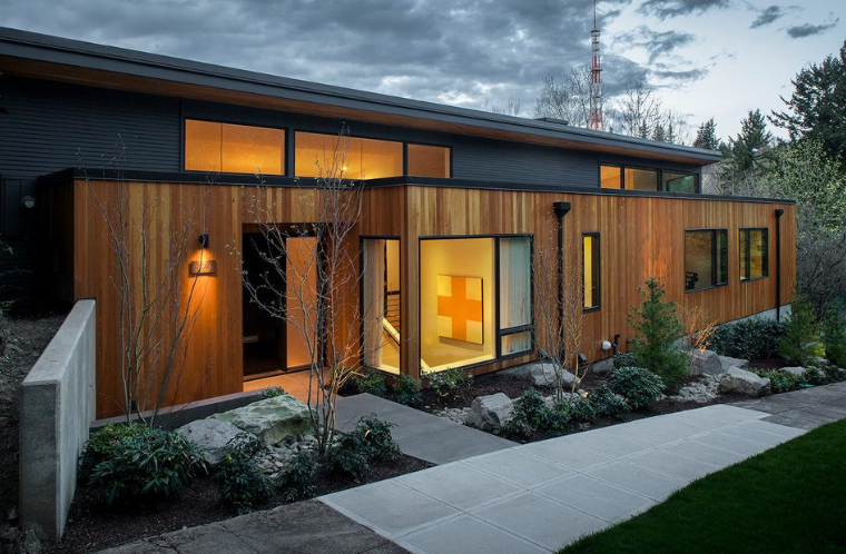 Pin By Sarah Strange On Contemporary House Exterior