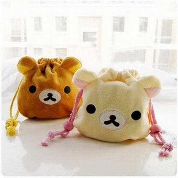 Rilakkuma San-X Drawstring Lunch Bento Bag HandBag | Bento ...