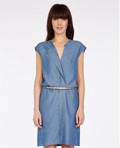Kleid im Denimlook | Comptoir des Cotonniers | Kleider ...