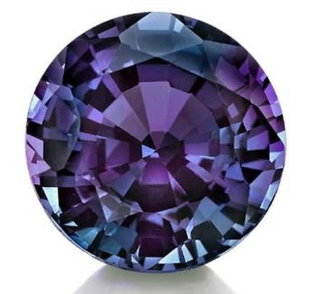 Lab-Created Alexandrite Loose Gemstone 4mm Round
