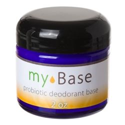 Probiotic Unscented Deodorant - Mix any essential oil scent of your choice.  I LOVE this!  I have been sweating a lot this summer and no odor!!