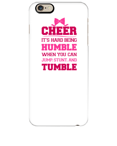 new product 99207 5d244 If Cheerleading Was Easy - iphone 6 Plus Case | General ...
