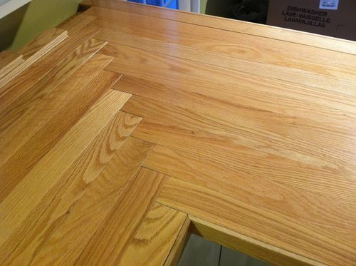 Butcher Block Or Oak Wood Countertop By Cdbridge39 Lumberjocks