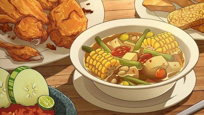 25 Gambar Kartun Makan Bakso Ilustrator Ini Ciptakan Kuliner Indonesia Dalam Bentuk Download 5 Makanan Food Illustrations Illustration Food Aesthetic Food