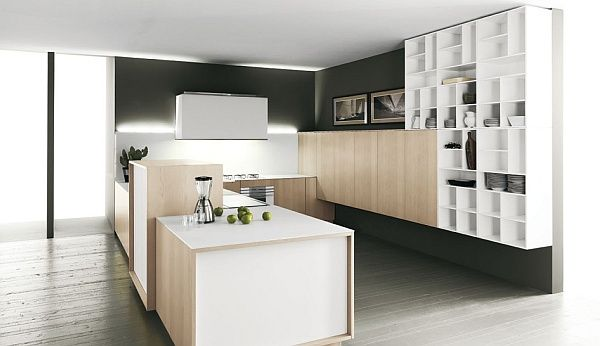 Superbe Functional Luxury Minimalist Kitchen Design Idea