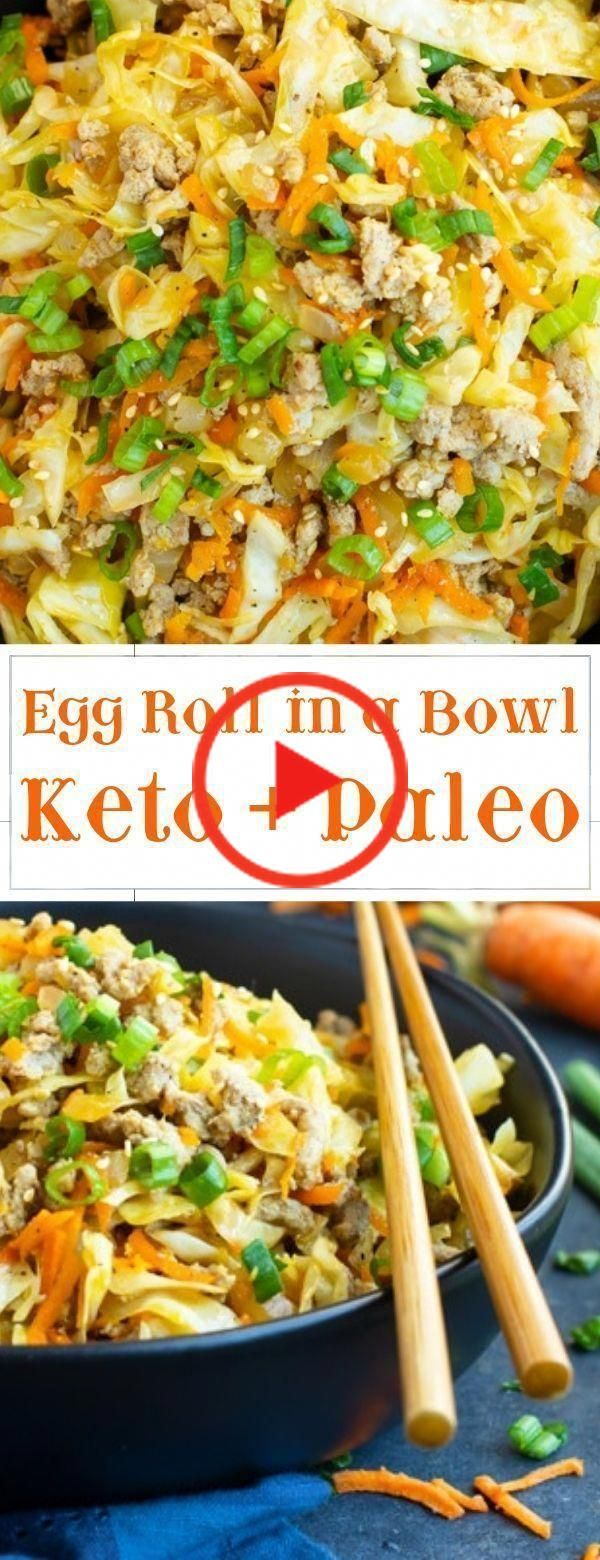 Egg Roll In A Bowl Whole 30 _ Egg Roll In A Bowl