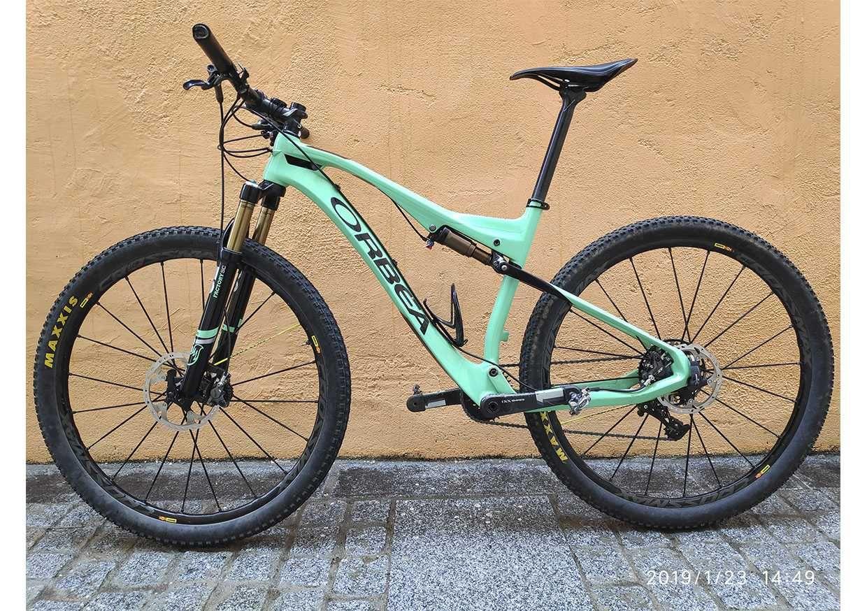 Bicicleta De Montaña Orbea Oiz Ref 43430 Talla L Año 2016 Cambio Sram Xx1 Cuadro De Carbono Suspensión D Bicicletas Bicicletas Mtb Bicicletas De Montaña