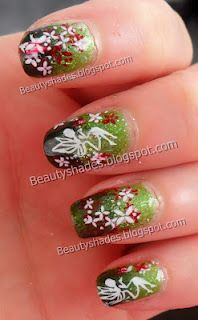 Forest Fairy Nail Art Design Would Be Cute For Me And My Enchanted
