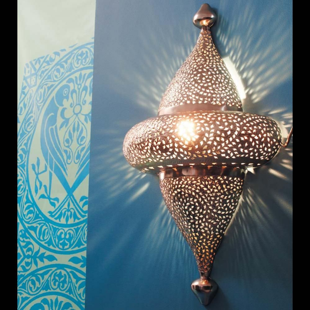chased metal wall light H 102cm | Pinterest | Wall sconces, Lights ...
