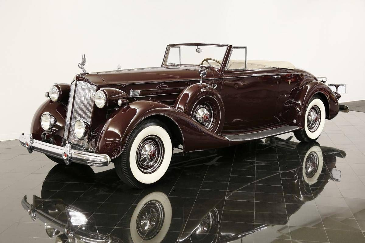 1937 Packard Twelve Coupe Roadster Bmw Classic Cars Packard Cars Packard